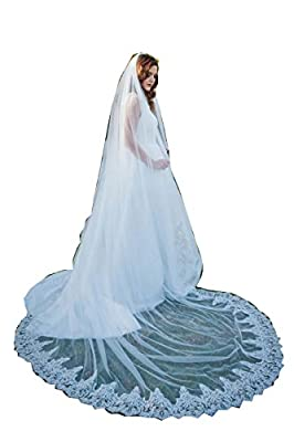 Kelaixiang Wedding Accessory Bridal Veil For Women