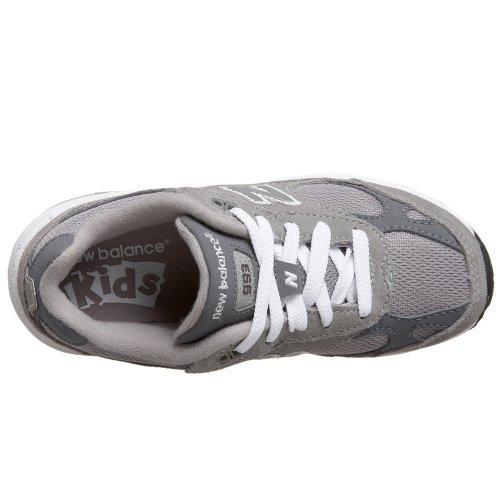 New Balance  KJ 993 GRP, Jungen Sneaker Grau Grigio