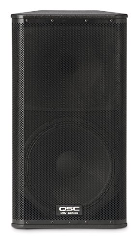 QSC KW152 1000 Watts 15-Inch 2-Way Powered Loudspeaker by QSC