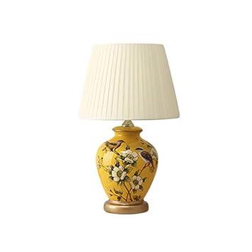 Amazon.com: GEF Ceramic Table Lamp, Bedroom Bedside Lamp ...