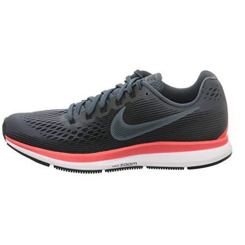 Nike Men's Air Zoom Pegasus 34, Blue Fox/Black-Bright Crimson, 6 M US by Nike (Image #1)