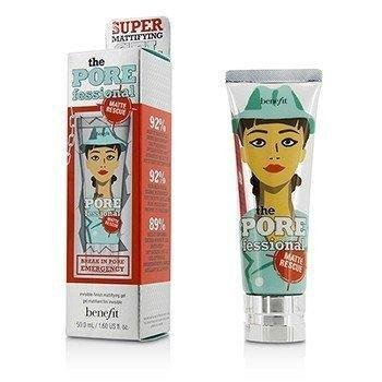 Benefit Cosmetics The POREfessional Matte Rescue Gel Invisible Finish Mattifying Gel 1.60 FL -