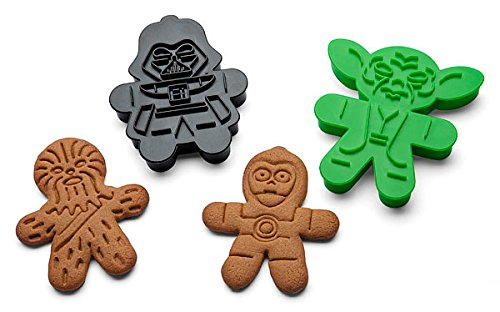 Star Wars Cookie Cutters for Gingerbread or Sugar Cookies - Set of 6