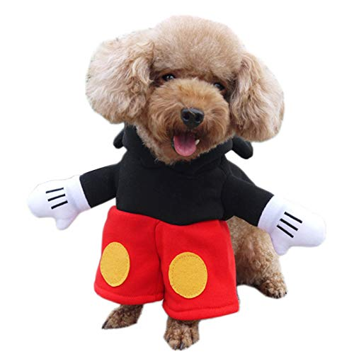 Alfie Pet - Bayou Mickey Costume - Size: Small -