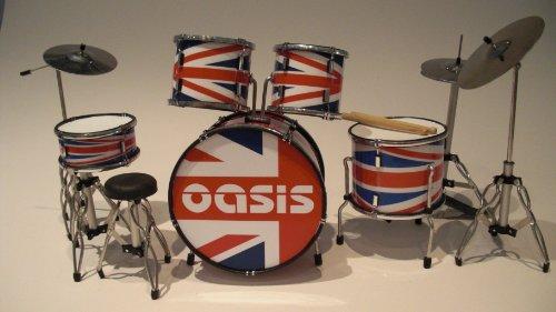 RGM322 Oasis Liam Gallagher Miniaturschlagzeug