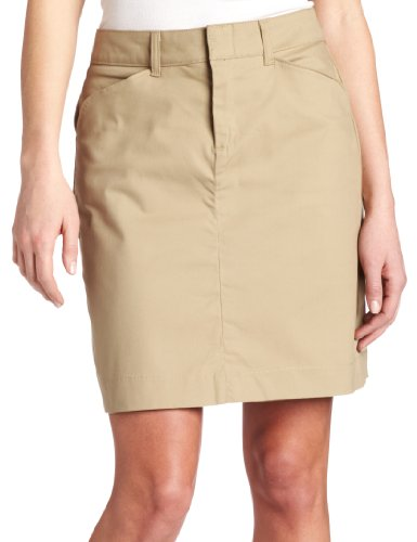 Dickies Women's 20 Inch Stretch Twill Skirt, Desert Sand, ()