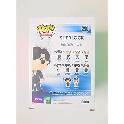 Funko POP! Sherlock with Skull #290: Toys & Games