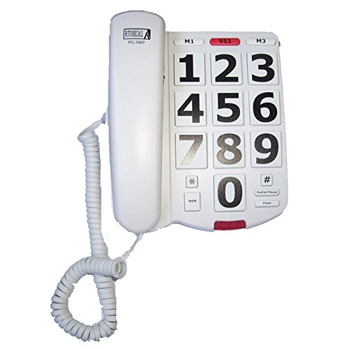 Large Number Telephone (Future Call FC-1507 Big Button Phone with 40db Handset)