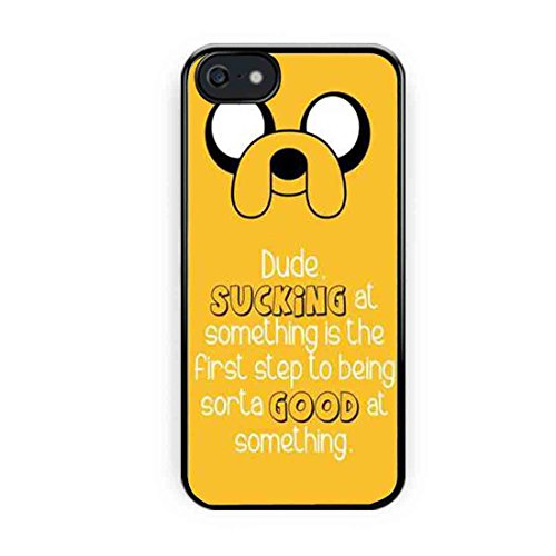 Adventure Time Jake The Dog Quote iPhone 5s Case, iPhone 5 Case
