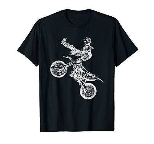Motocross Rider Stunt T Shirt