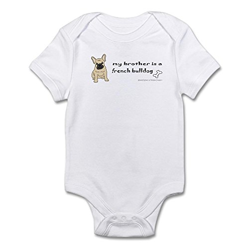 CafePress french bulldog Infant Bodysuit