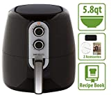 Simple Living 5.8qt XL Electric Digital Touch Screen Air Fryer | Multi...