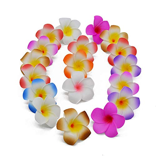 20Pcs-5CM-Plumeria-Foam-Frangipani-Flower-Artificial-Silk-Fake-Egg-Flower-for-Wedding-Party-DecorationBlue