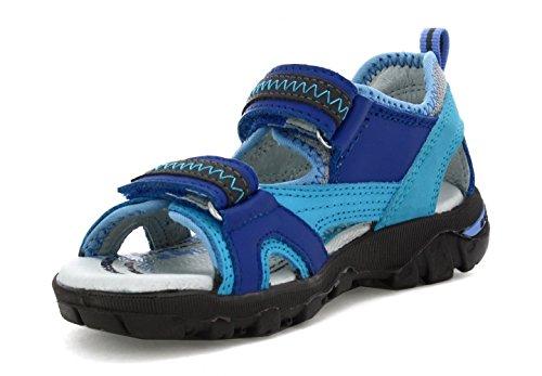 Bartek Girls Leather Sandals Ultra Light 16113//103 Sky Blue Little Kid//Big Kid