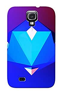 New Arrival Case Cover XzLdyGu132WEdUi With Design For Galaxy S4- Polygons Best Gift Choice For Lovers