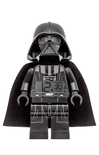 - LEGO Darth Vader Clock, Black, 9.5 Inches Tall