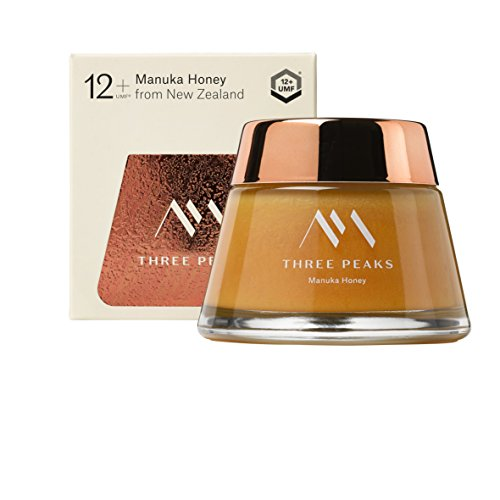 Three Peaks Manuka Honey New Zealand - Certified UMF 12+ - 7.05 oz (200gm) - 100% Natural honey, Raw honey – Ultra Premium, Healing Manuka honey