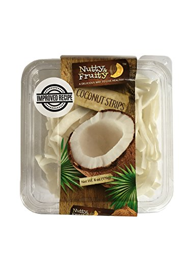 - Dried Coconut Strips Chips