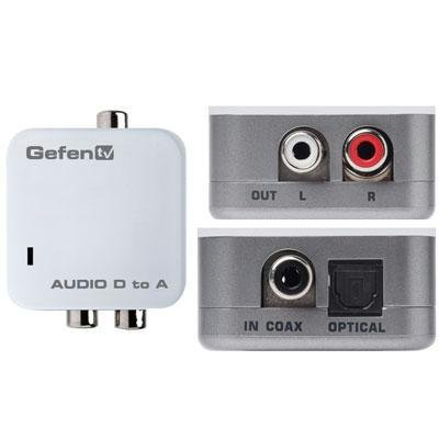 Gefen GTV-DIGAUD-2-AAUD TV DIGITAL AUDIO TO ANALOG ADAPTER PACKAGE INCLUDES: UNIT; (1) CAB-TLINK-3M ()
