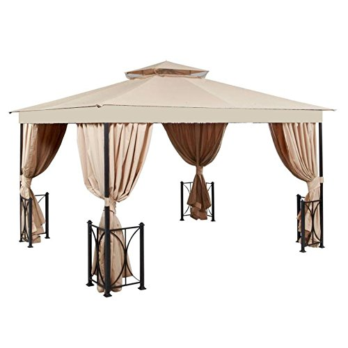 Garden Winds Replacement Canopy for the 10' x 12' Belcourt Gazebo - 350