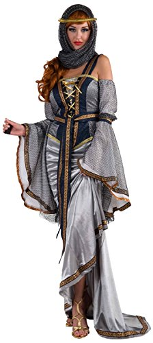 [Forum Novelties Women's Designer Collection Deluxe Lady Of The Lake Costume, Blue, Small] (Top 10 Larp Costumes)