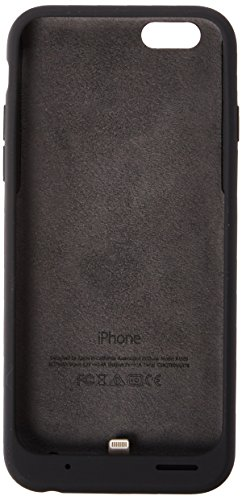 Apple Charcoal Gray Battery Case for iPhone 6 and 6S - Retail Packaging