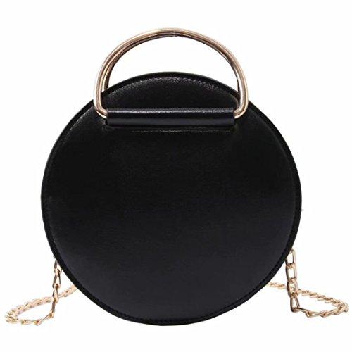 dudubaobei noir B sac sac main green chaîne J épaule pearl rivet à sac rond sac Petit big petit fille femelle petit AxqArfF