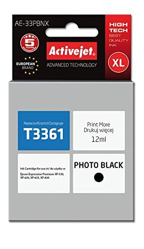 ActiveJet AE-33PBNX cartucho de tinta Compatible Negro ...