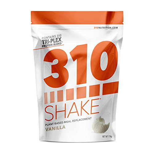 Vanilla Meal - Vanilla Meal Replacement | 310 Shake Protein Powder is Gluten and Dairy free, Soy Protein and Sugar Free | Includes Free Recipe eBook | 28 Servings