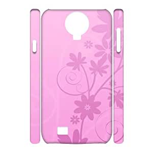 case Of Pink 3D Bumper Plastic Cell phone Case For Samsung Galaxy S4 i9500