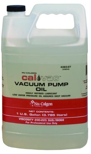 Nu-Calgon 4383-07 Vacuum Pump Oil, 1 gal Bottle