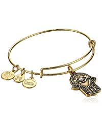 Alex and Ani Hand of Fatima III Bangle Bracelet Expandable