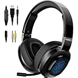 NUBWO N15 Surround Sound Stereo Gaming Headset...