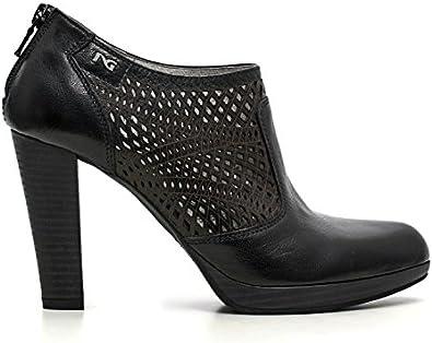 Giardini Nero 100 Chaussures Femme Bottes P615000D Pompes DWE2I9HY