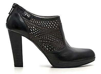 P615000d Giardini Femme Pompes Talons Nero Bottes Chaussures 100 Swdnw5Xq