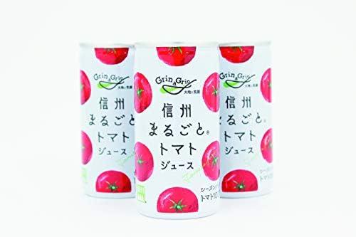 濃厚 信州トマトジュース(有塩) 30本入