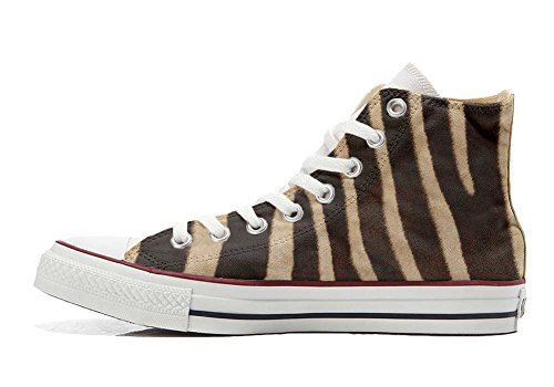 mys Converse All Star Customized - zapatos personalizados (Producto Artesano) cebra