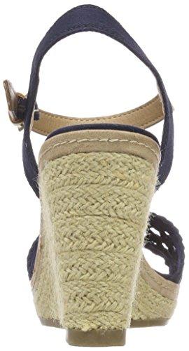 Tom Bride Sandales Bleu Tailor 4890805 Femme Marine Cheville wtv4zwqr