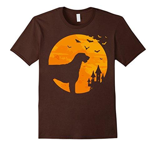 Mens Irish Wolfhound Tee Scary Halloween T Shirt XL (Irish Wolfhound Halloween Costume)