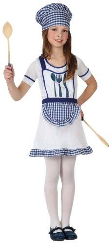 Generique - Disfraz de cocinera Infantil