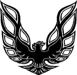aguila con sus alas abiertas ampliamente las pegatinas