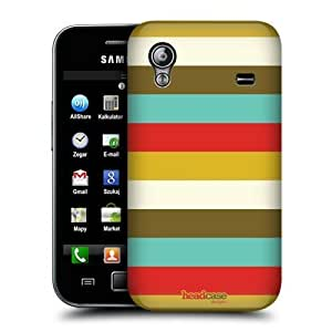 lintao diy AIYAYA Samsung Case Designs Stripes Retro Christmas Protective Snap-on Hard Back Case Cover for Samsung Galaxy Ace S5830