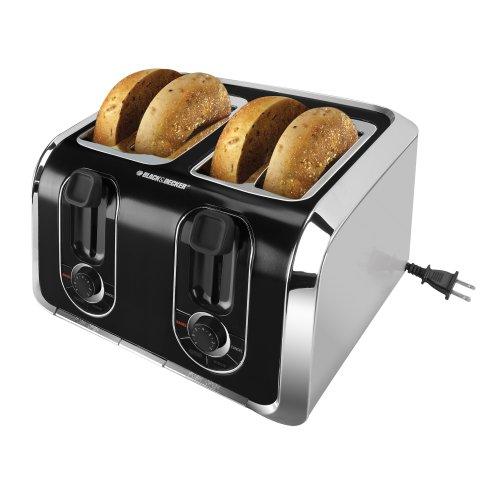 Black & Decker TR1400SB 4-Slice Stainless-Steel Toaster