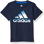Adidas Boys Stay Dry Moisture-Wicking Aeroready Short Sleeve T-Shirt T-Shirt