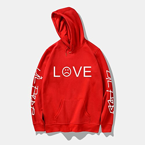 wangxiyan Lil Peep R.I.P. Love Printed Men/Women Fashion Sport Hip Hop Hoodie Sweatshirt Casual Pocket Long Sleeve Thin Fleece Hoodies Pullovers Coat Tops Outdoor by wangxiyan (Image #3)