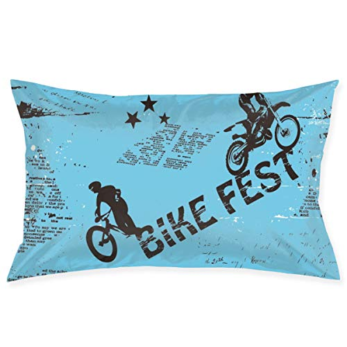Tidyki Bike Fest Motorcycle Competition Throw Pillow Covers Cushion Covers Rectangle Pillow Shells Decorative Pillowcase Sofa Bed Home Office 20