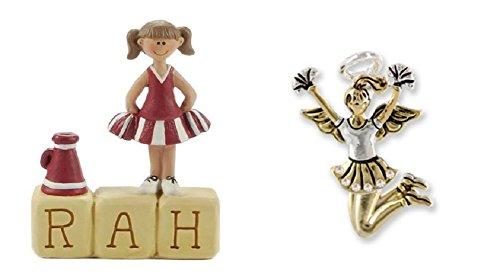 Cheerleader Figurine and Pin (Figurine Cheerleader)