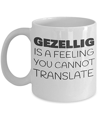 Gezellig is a feeling you cannot translate