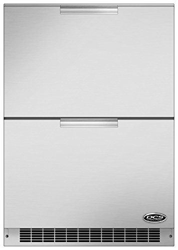 DCS (71144) RF24DE3 Outdoor Refrigerator Drawers, 24-Inch by DCS