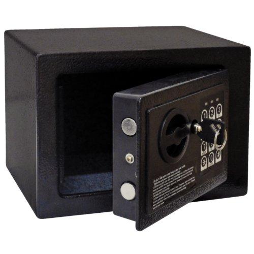 Bolero Gc607 Mini coffre-fort de chambre d'hô tel, Noir NISBETS